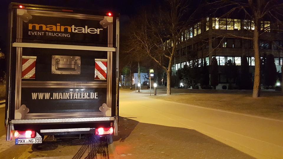 Sendungsbeispiel: Event-Trucking Von Istanbul Nach St. Petersburg