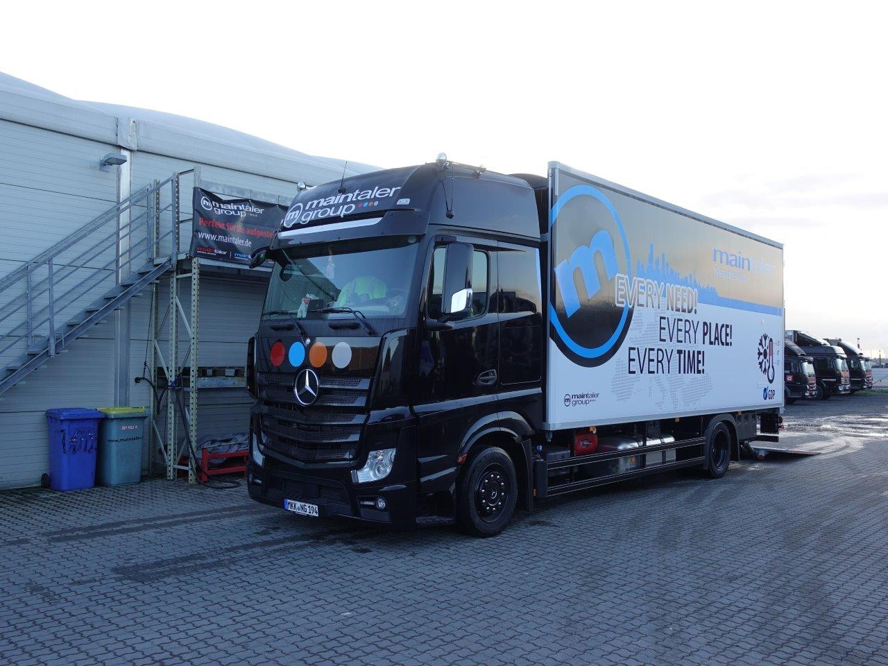 LKW 18t Thermo + Ladebordwand