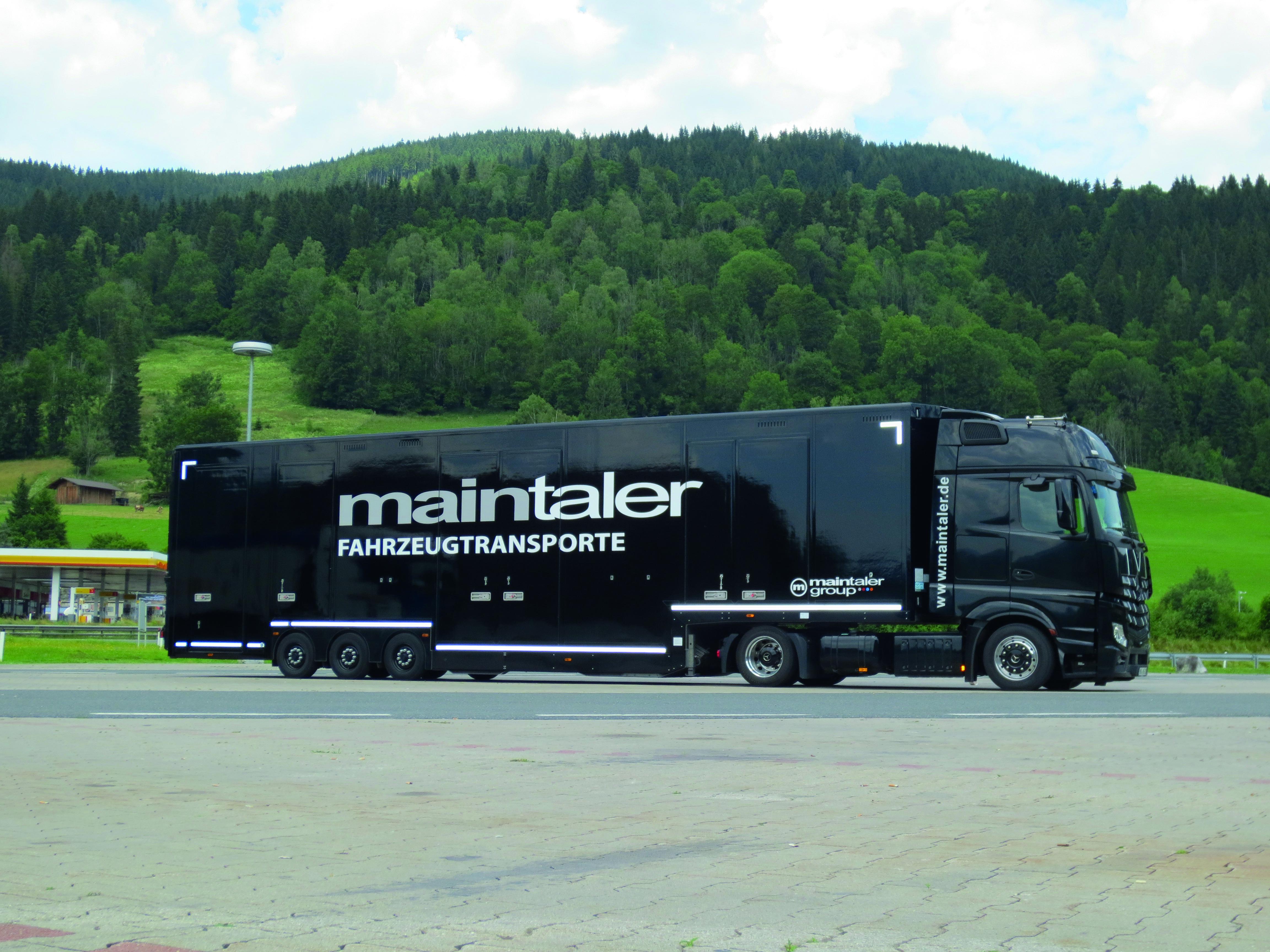 Maintaler-Fahrzeugtransporte