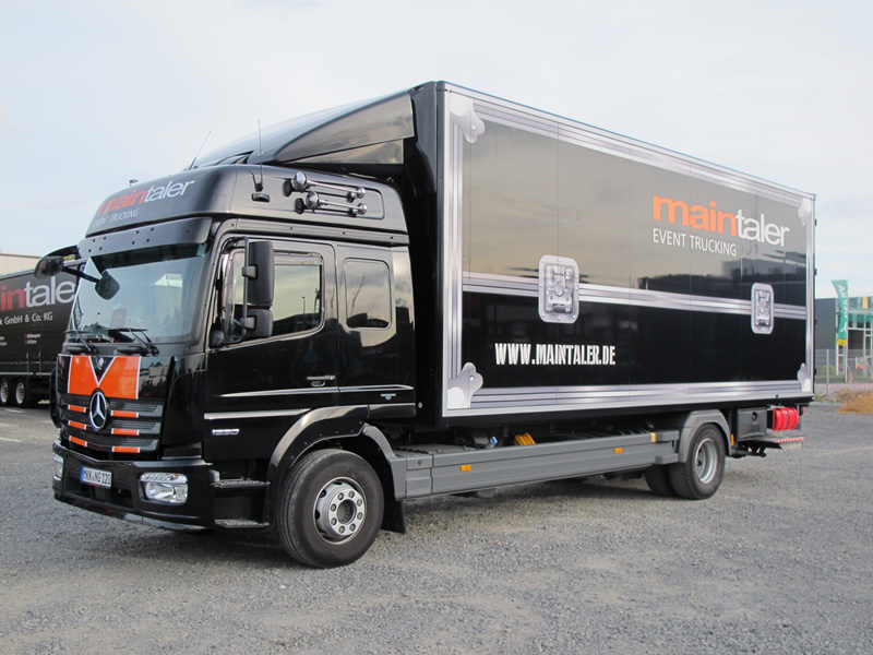 LKW 15t – Koffer O. Plane + Ladebordwand